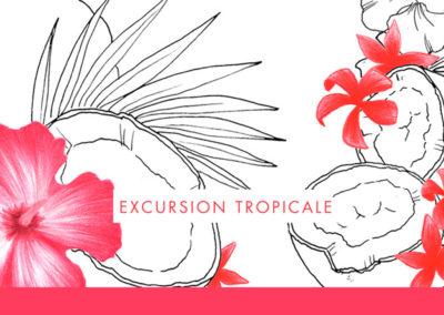 Excursion tropicale